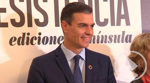 Pedro Sánchez dona a los 'sin techo' los ingresos de su libro