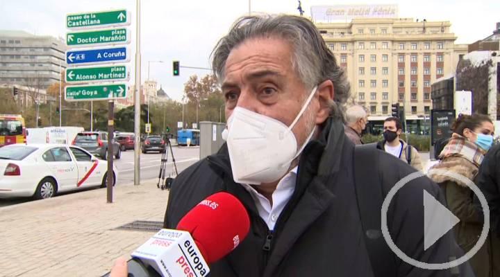 Pepu Hernández comparte la preocupación del sector del taxi