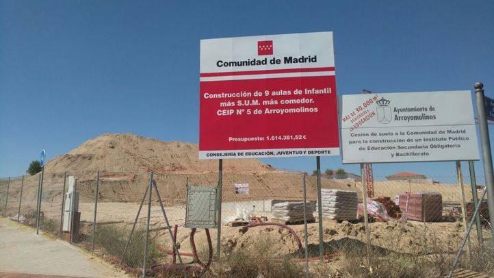 Construcción del CEIP Averroes, Arroyomolinos