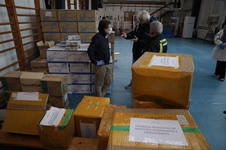 El Ayuntamiento hace llegar a Ifema 20 respiradores donados por los gimnasios Go fit