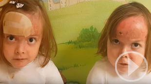 Carla y Noa, unas 'leonas sin escudo' te animan a quedarte en casa