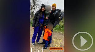 Sergio Ramos y Pilar Rubio comparten en redes un día de montaña