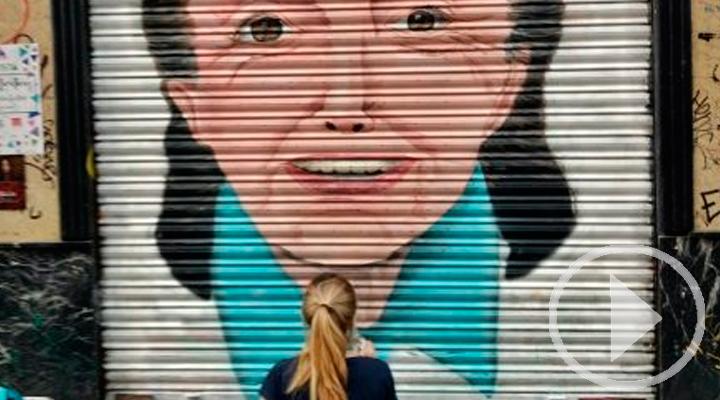 '¡Pinta Malasaña!' llena de color las calles del barrio