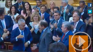 Pío García-Escudero es reelegido Presidente del Senado