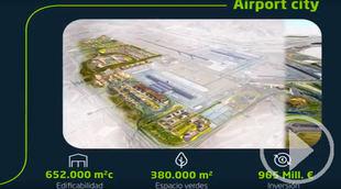 De la Serna presenta el Plan Inmobiliario de Barajas