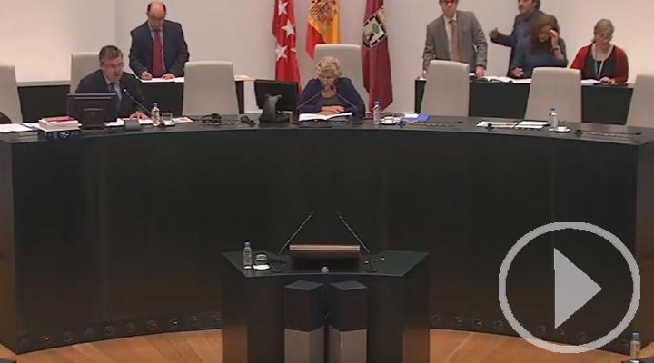 Sigue en directo la sesión ordinaria del pleno del Ayuntamiento