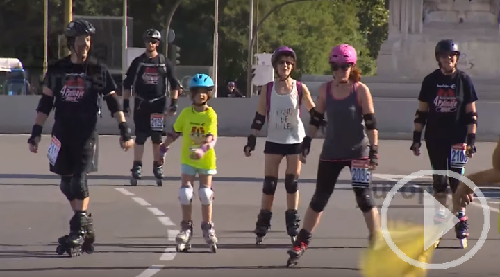Fiesta de los patinadores en Colón