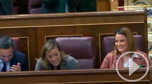 Iglesias acusa a PP y Vox de 'descojonarse' en la Cámara
