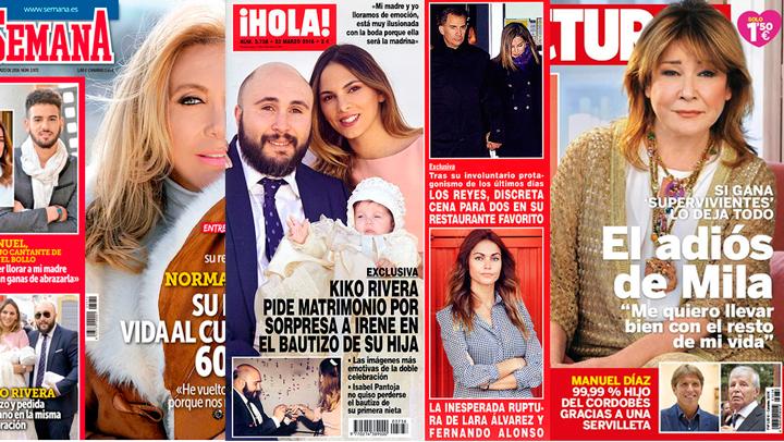 Las revistas de los miércoles: La fina línea que separa hoy me caso, del mañana ni me acuerdo...