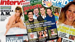 Las revistas de los lunes: Makoke se convierte en
