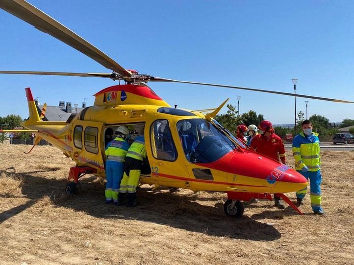 Herido grave un trabajador que ha caído de un tejado en Pozuelo