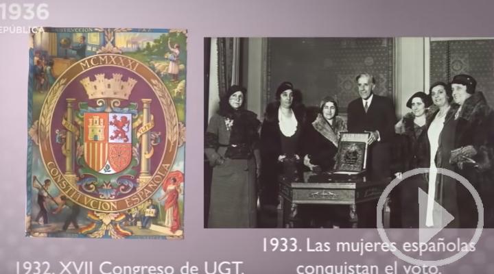 Los 130 años de historia de UGT resumidos en siete minutos