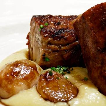 Cocina creativa en el restaurante La Manzana