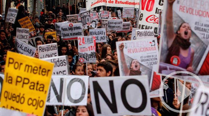Nuevas protestas de estudiantes por la reválida