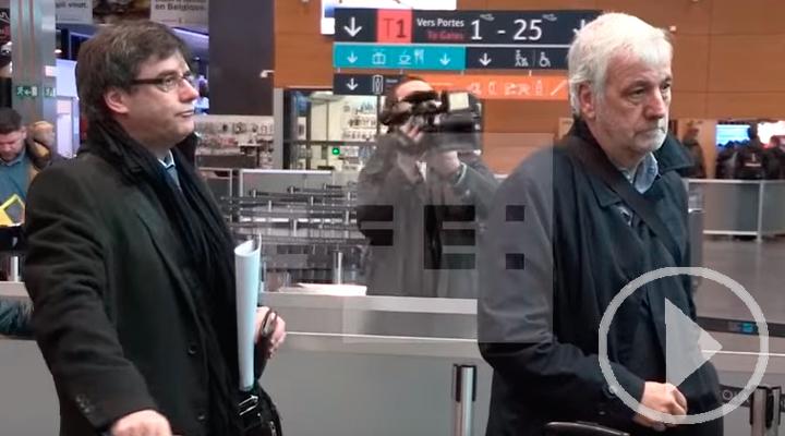 Puigdemont, rumbo a Copenhague