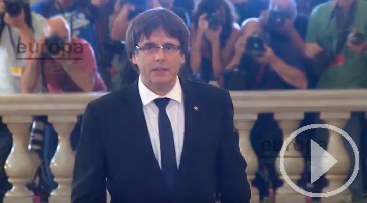 Puigdemont comparece hoy ante la justicia