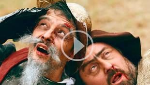 El pueblo de Alcalá de Henares entierra a Miguel de Cervantes