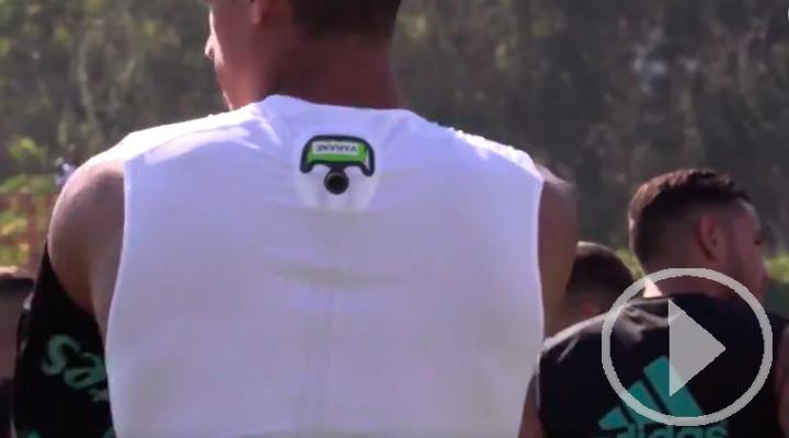 El Real Madrid incorpora el sistema GPS en su equipación