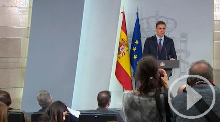 Sánchez reconoce a Juan Guaidó para que organice elecciones