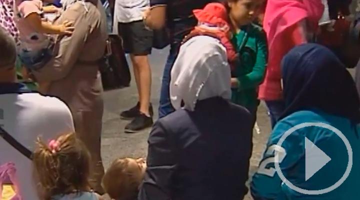 Llegan a Barajas 155 refugiados procedentes de Líbano