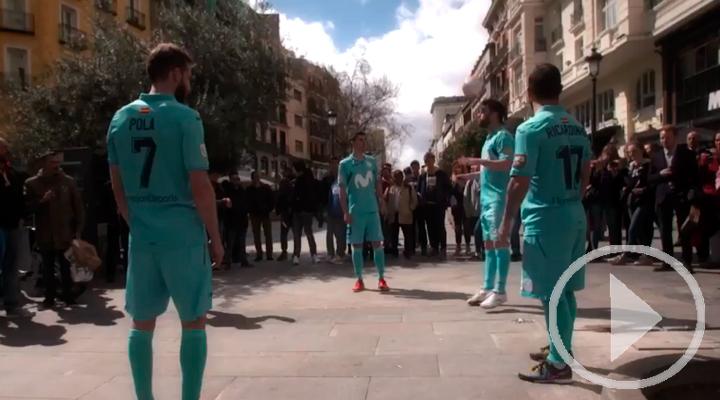 Las calles de Madrid, el campo de entreno del Movistar Inter