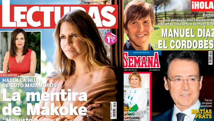 La revistas de los miércoles: La mentira de Makoke y pruebas de paternidad..
