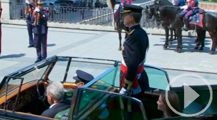 Felipe VI cumple cinco años en el trono