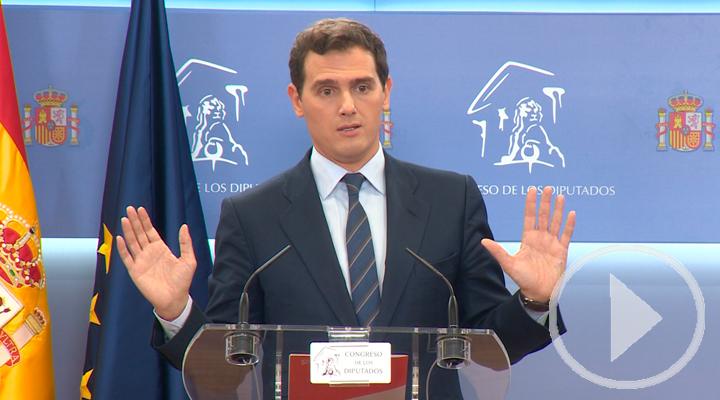 Rivera pide un pacto a tres que evite indultos