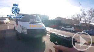 Detenido por robar una furgoneta con regalos de Navidad