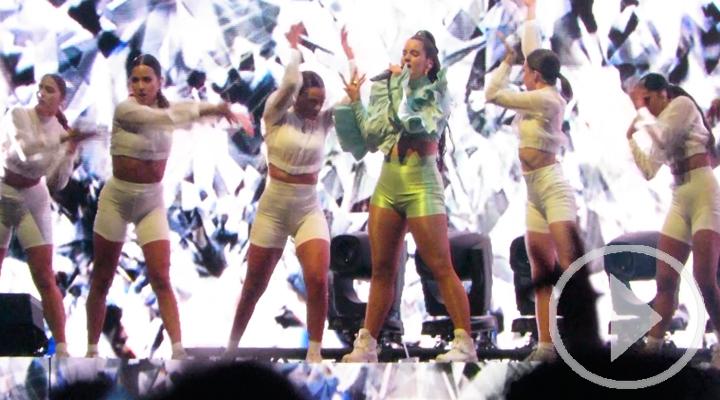 Los famosos se rinden a Rosalía en Mad Cool 2019