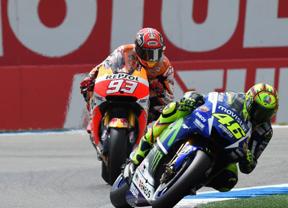 Rossi & Márquez, duelo de titanes en Assen