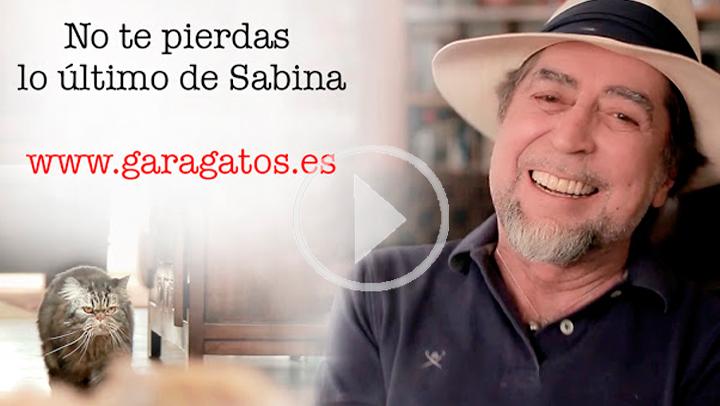 Sabina se pasa de la pluma al pincel con 'Garagatos'