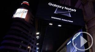 Samsung apaga todas las pantallas de la Plaza de Callao