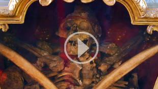 ¿Sabías que las reliquias de San Valentín yacen en Madrid?