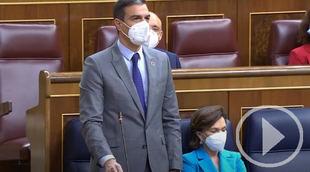 Sánchez a Casado: 'Se le está poniendo cara de Albert Rivera'