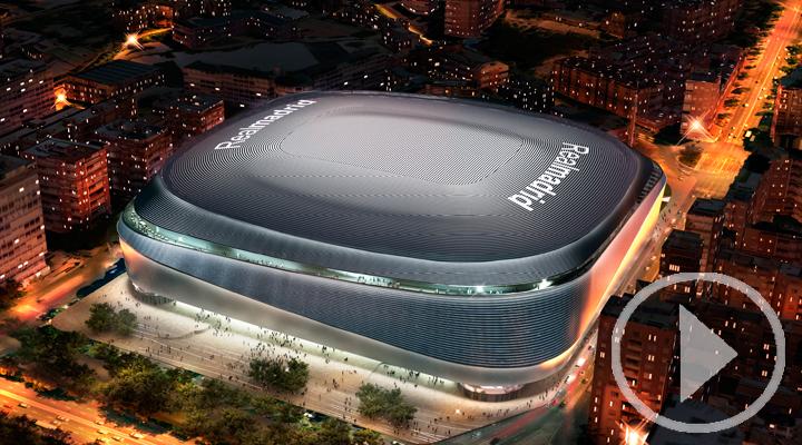 Ayuntamiento y Real Madrid presentan en rueda de prensa el acuerdo para la mejora del Bernabéu y su entorno