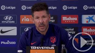 Simeone: 'La contundencia es lo que marcará la diferencia en LaLiga'