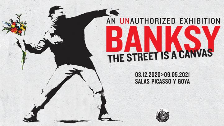 Una gran muestra sobre Banksy llega al Círculo de Bellas Artes