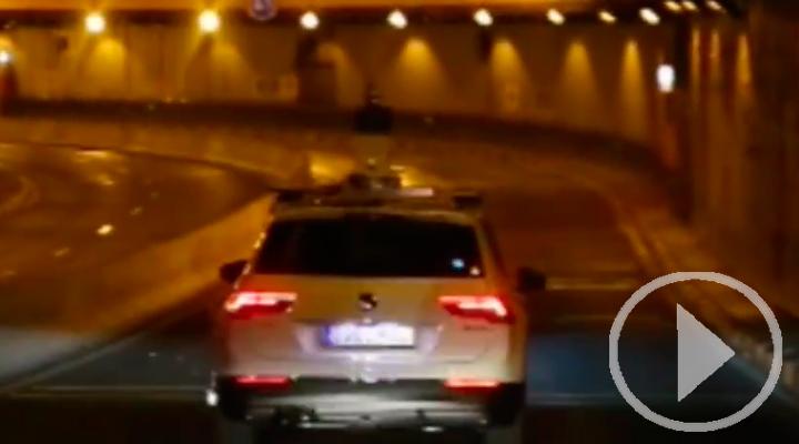 Así se gesta el 'Street View' de los túneles de Madrid