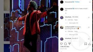 Decepción por actuación de The Weeknd en la Super Bowl