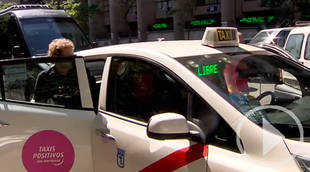 Los 'Taxis Positivos con Triptófano' llegan a Madrid