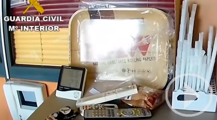 La Guardia Civil desmantela un punto de venta de drogas dentro de la Operación Telegramo