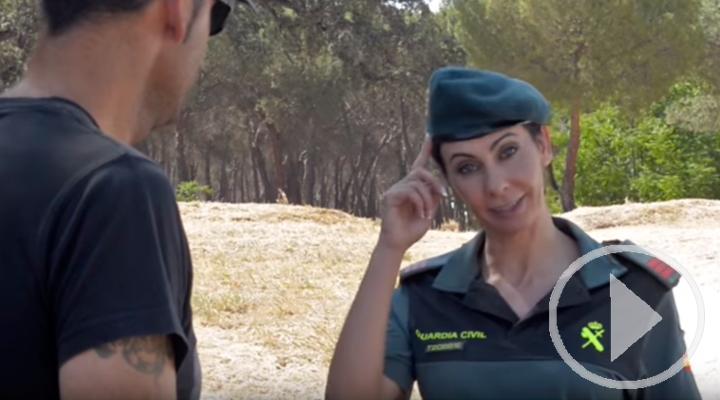 La Guardia Civil lanza la campaña ¡Ten cabeza!¡En verano no se abandona!