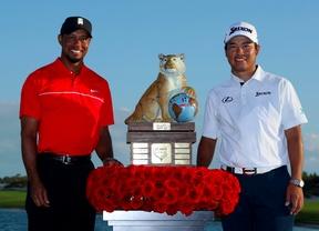 Cuarta victoria de Hideki Matsuyama en 2016 y buenas sensaciones para Tiger Woods a pesar de terminar penúltimo