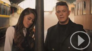 Tini y Alejandro Sanz cantan juntos 'Un beso en Madrid'
