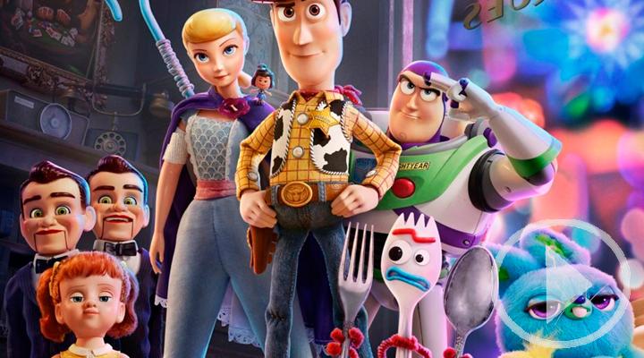 La nueva entrega de Toy Story y Godzilla llega a la cartelera
