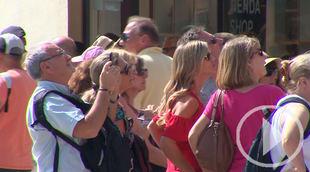 Aumenta el número de turistas que llegan a España y Madrid