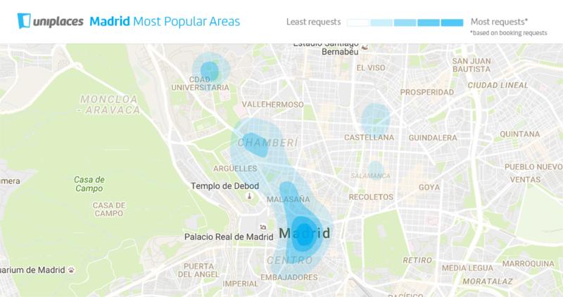 Distrito Centro, el más demandado por los estudiantes Erasmus para vivir en Madrid