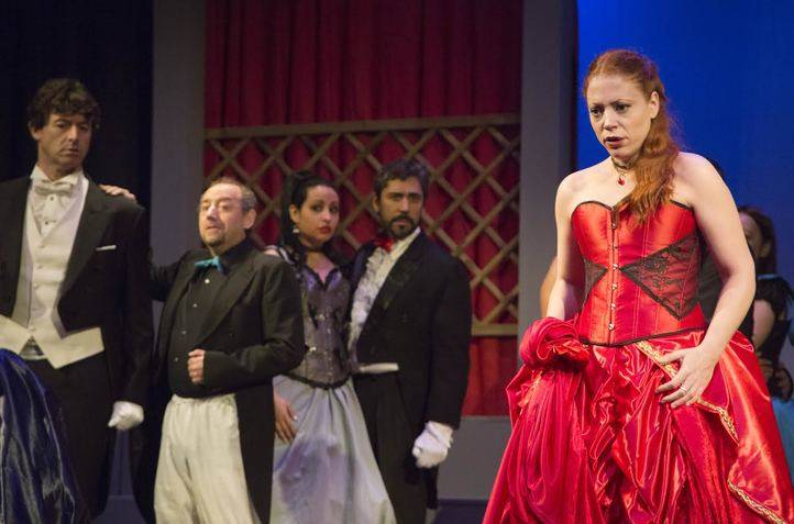 'La traviata', ópera en el teatro Reina Victoria