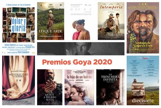 Portada del Ciclo Premios Goya 2020
